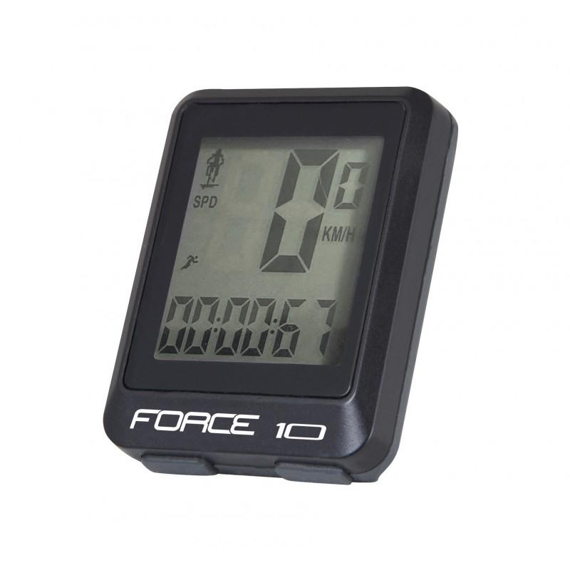 Ciclocomputer Force 10F cu fir