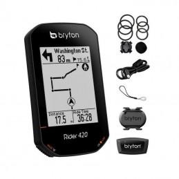 Ciclocomputer Bryton RIDER 420T Set (HRM + CAD)